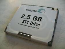 SEAGATE ST1 DRIVE MICRODRIVE 2.5GB ST625211CF PN 9AF211-001 MINI FESTPLATTE HDD