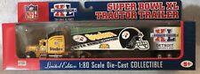 2006Pittsburgh Steelers 1/80 Diecast Super Bowl XL Champions Peterbuilt Semi NEW