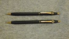 Cross Century Black Pencil with Gold Trim and CIC Emblem