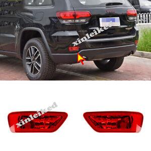 2pcs Rear Tail Fog Light Lamp Kits for Jeep Grand Cherokee 2011-2017