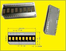 Hdsp - 2111 LED alphanumeric dot matrix display 8 digit 5x7 amarillo 1 unid.