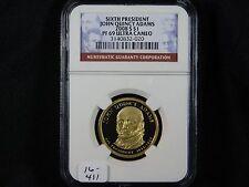 2008-S John Quincy Adams Presidential Dollar - NGC PF 69 Ultra Cameo  (16-411)