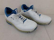 Ecco Golf Extra Width Gore-Tex Surround Shoes Men Size 9 US White 43 EU