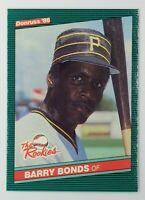 1986 86 Donruss The Rookies Box Set Barry Bonds Rookie RC #11, Pirates, Giants