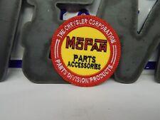 nos mopar parts accessories patch