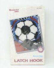 New listing Latch Hook Soccer Ball kit by Caron International
