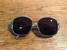 NOS Vintage 70s ~ 80s Cazal 115-81 Clear x Blue Sunglasses (Made in West Germany