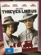 Thieves Like Us ex-rental region 4 DVD (1974 Robert Altman movie)