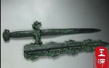 Phoenix 48cm bronze sword graceful wonderful chinese antique collectible