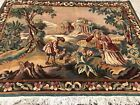 AN AWESOME WALL HANGING FRENCH DESIGN TAPESTRY , EUROPEAN RUG