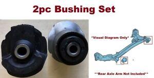 2pc Set fits Toyota Sienna 1998 1999 2000 2001 2002 2003 Rear Axle Arm Bushings