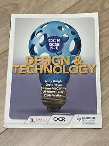 OCR GCSE (9-1) Design and Technology - 9781510401136