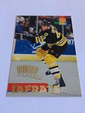 1994-95 Topps Stadium Club Al Iafrate Rink Report Insert Boston Bruins Capitals