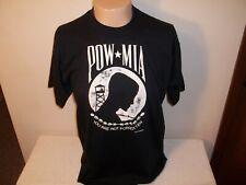 Vtg 1988 Screen Stars Vietnam Pow-Mia You Are Now Forgotten T-Shirt Fits L