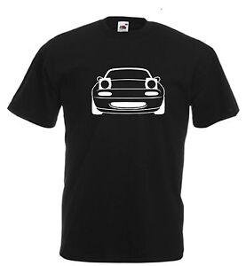 Mazda MX5 T Shirt Miata Eunos Roadster MX-5 Novelty Birthday Xmas Gift Japenese