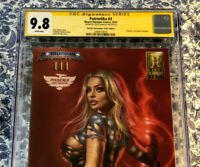 Patriotika #3 CGC 9.8 Parrillo Signed Phoenix Fan Fusion Variant 1 of 60 VHTF