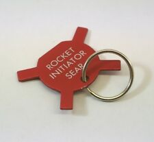 RAF Aircraft Martin Baker Ejection Seat Rocket Initiator Sear Key Ring
