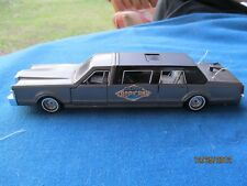 "MAJORETTE LINCOLN STRETCH LIMO 1:32 DIECAST CAR 3048 9 1/8"" OPENING DOORS SUNROO"