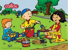 24 pcs Kids Children Jigsaw Puzzle (English Music CD) - Caillou Playing In Park
