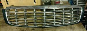 CADILLAC DEVILLE GRILLE ASSEMBLY GREEN OEM 1997,1998,1999
