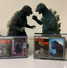Bandai Memorial Box Godzilla 1964 & 1984 Figures with Tags