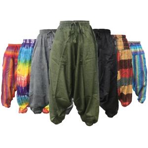Harem Trousers Ali Baba Mens womenPants Aladdin Baggy Hippie Yoga New Gypsy Boho