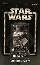 Star Wars 2003 Silver Boba Fett US Convention Figure Exclusive OTC Saga ESB ROTJ