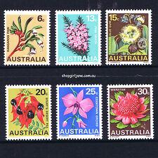 1968 - Australia Australian Native Flowers State Floral Emblems - set of 6 - MNH