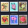 1968 - Australia Australian Native Flowers State Floral Emblems - set of 6 - MNH