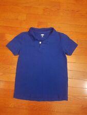 Old Navy Small 6 7 Boys Polo Shirt Short Sleeve Top Blue