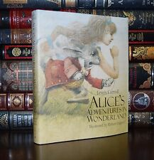 Alice in Wonderland L. Carroll Illustrated R. Ingpen New Collectible Hardcover