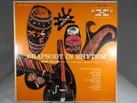 GERI GALIAN & HIS CARRIBEAN RHYTHM BOYS: Rhapsody In Rhythm LP Latin VG+ LXA1001