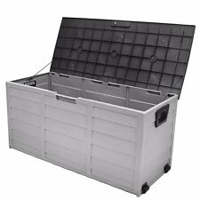 all weather uv Pool Deck Box Storage shed bin Backyard Patio Porch Outdoor new