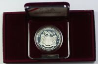 1992 Olympic Commemorative Proof Silver Dollar $1 Coin As Issued W/ Box & COA