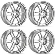 "ENKEI RPF1 RPF-1 LIGHTWEIGHT RACING WHEELS ACURA INTEGRA HONDA CIVIC 15X7"" 4X100"