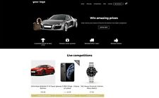 Online Business Competition Raffle Lottery Website Make Money Instantly