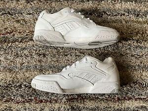 Vintage Reebok White Low Top 90s Sneakers RA710 PYE 4-21659 Mens Size 10.5