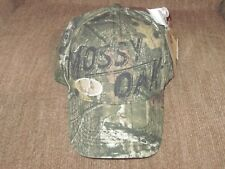 REALTREE Mossy Oak Front Logo Camo Ball Hat Cap, Curved Brim Officially Licensed