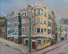 Leavenworth & Broadway San Francisco Impressionism Landscape John Kilduff 16x20