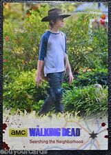 Walking Dead Season 4 Silver Numbered Parallel Base Trading Card #40 14/99