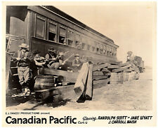 CANADIAN PACIFIC ORIGINAL BRITISH LOBBY CARD SHOOTOUT BY VINTAGE STEAM TRAIN