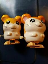 Lot Of 2 Hamtaro Anime Figure - Wind Up Toys Hams - Rare - From adult only home