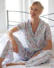 Cyberjammies Cotton Pyjama Sets Floral Nightwear for Women