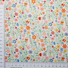Streublumen Serie Schlaue Katzen Makower UK Patchwork Stoff Baumwolle