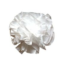 "25 Car Limo wedding Decoration Plastic Pom Poms Flower 4"" - white"