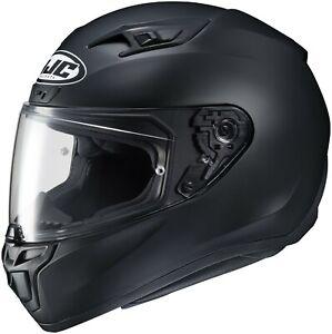 HJC i10 Full Face Motorcycle Helmet Semi-Flat Black XL Adult