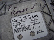 Vauxhall Astra 1.6 Z16XER ECU +Pin 55559394 ECM 55 559 394 Opel 5WK9 419 REFA548