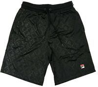Fila Black Bailey All Over Print Shorts