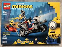 NEW Lego Minions Rise of Gru 75549 Unstoppable Bike Chase 136pc Building Toy Set