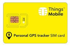 SIM Card Things Mobile per PERSONAL GPS TRACKER con 10 € di credito incluso